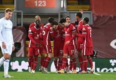 Liverpool derrotó 3-0 a Leicester City en partido por Premier League