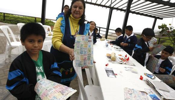 Realizaron la VI Feria de Reciclaje en Miraflores