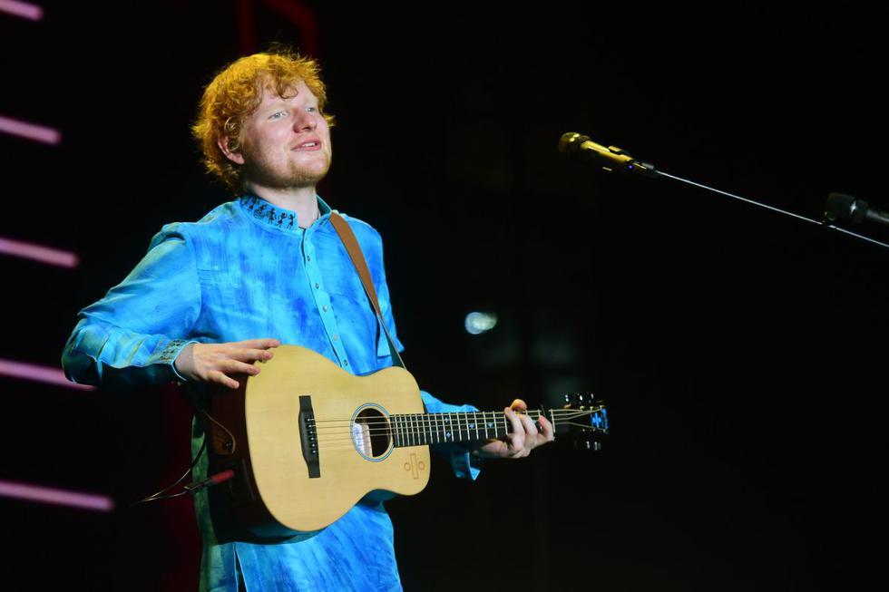 El cantante británico Ed Sheeran cumple 29 años.