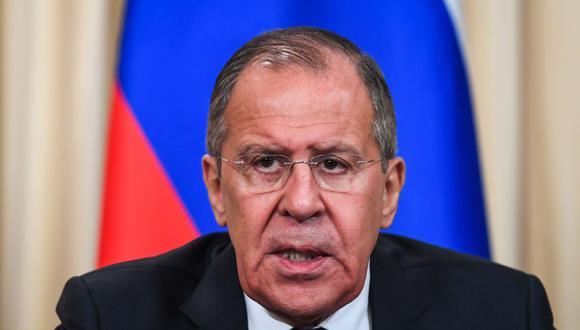 "Serguei Lavrov: John Bolton ""insultó a toda América Latina"" al mencionar la doctrina Monroe   Venezuela. (AFP)."