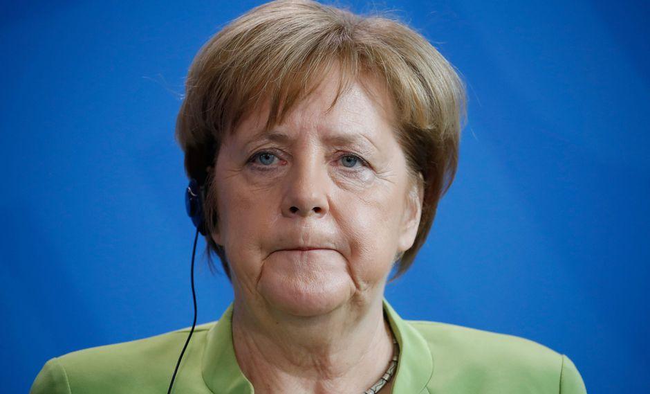 """Angela Merkel: Europa ya no puede esperar que Estados Unidos le """"proteja"""". (AFP)."""