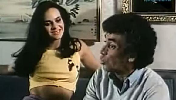 Maribel Guardia y Alfonso Zayas trabajaron juntos en diversas producciones mexicanas. (Foto: Captura de YouTube)
