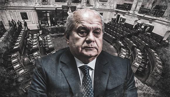 Pedro Cateriano no obtuvo la confianza del Congreso, por lo que debe renunciar (Composición: El Comercio)