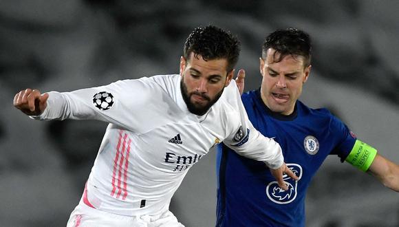 Madrid visita a Chelsea en Stamford Bridge. El partido de hoy se juega por la semifinal de la Champions League y aquí te damos a conocer cómo y dónde ver fútbol en vivo y en directo. (Foto: AFP)