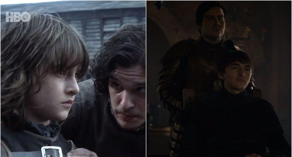 """La primera y última aparición de los personajes de la serie """"Game of Thrones"""". (Foto: HBO)"""