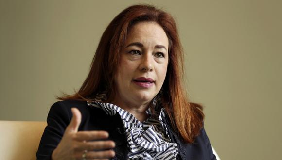 La canciller ecuatoriana María Fernanda Espinosa Garcés, poeta, diplomática y escritora de 53 años, reemplazará al eslovaco Miroslav Lajcak en la presidencia de la Asamblea General de la ONU. (Foto: AP/Richard Drew)