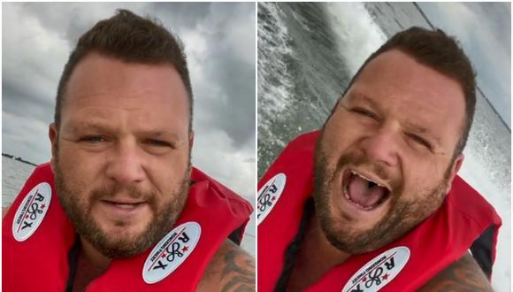 El tiktoker Nick Smith ha sido publicado tras publicar un video en donde se le ve paseando en una moto acuática. (Foto: @thesmithyfamily / TikTok)
