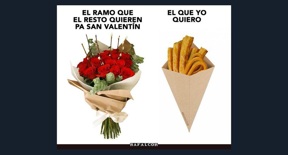 Algunos de los más divertidos memes de San Valentín. (Facebook)