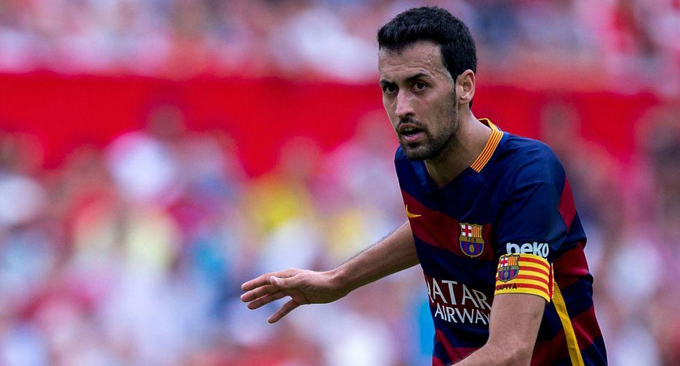 El mediocampista Sergio Busquets tiene una cláusula de rescisión de 200 millones de euros. (Foto: AFP/Reuters)