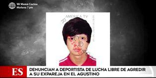 El Agustino: deportista de lucha libre es denunciado por agredir a su expareja