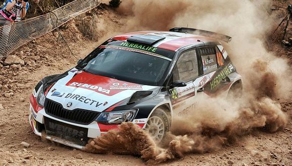 WRC: Nicolás Fuchs arrancó bien el Rally Italia