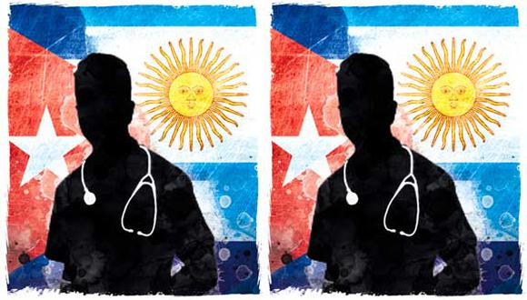 """""""En materia económica, Argentina está quebrada. ¿Cómo puede Argentina permitirse gastar millones en médicos cubanos que ni siquiera necesita?""""."""