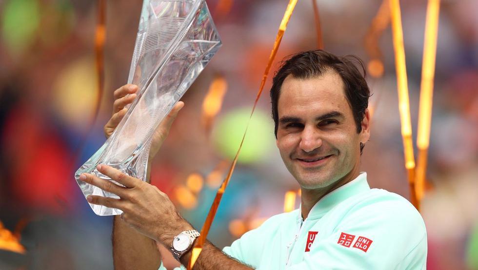 Roger Federer y otros deportistas veteranos que se mantuvieron en la cima. (Foto: AFP)