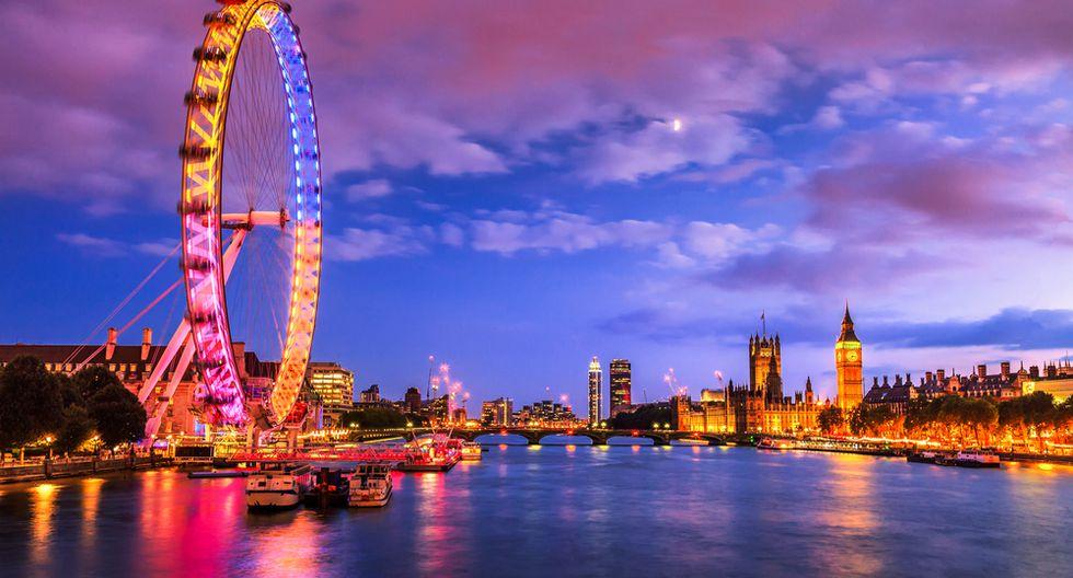 1. Londres. Lidera la lista por tener más y diversas opciones de ocio, así como oportunidades de negocio, facilidades para el emprendimiento y adecuados espacios de coworking.(Foto: Shutterstock)