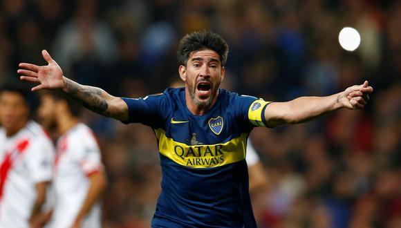 Pablo Pérez jugó cuatro temporadas en Boca Juniors. (Foto: AFP).