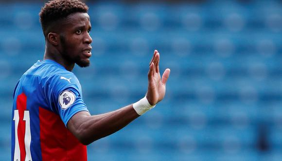 Wilfried Zaha del Crystal Palace es uno de los jugadores que ha sufrido actos de racismo. (Foto: Reuters)