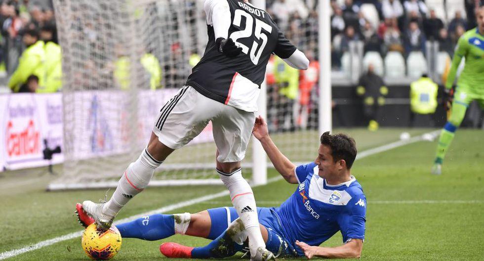 Estas son las mejores imágenes del duelo entre Juventus y Brescia por la jornada 24 de la Serie A de Italia. (Marco Alpozzi/Lapresse via AP)