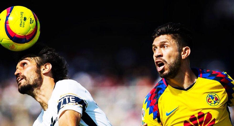 América y Pumas no se hicieron daño en el Olímpico Universitario. Sobre el final del cotejo, el colombiano Matheus Uribe fue echado del campo. (Foto: Diario Récord)