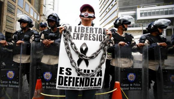 La SIP condena la censura oficial a la prensa en Venezuela