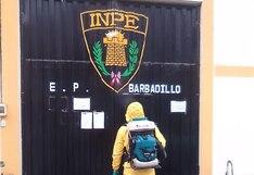 Coronavirus en Perú: desinfectan ambientes del penal Barbadillo como medida preventiva por COVID-19 | FOTOS