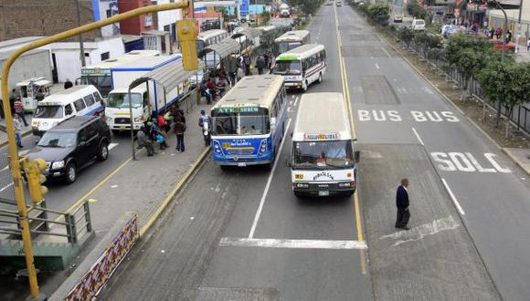 Corredor SJL-Brasil: unas 3.000 unidades saldrán de circulación