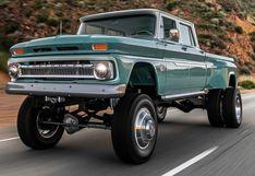 Chevrolet 'Ponderosa': la preparación extrema de Rtech sobre una pick up clásica   FOTOS