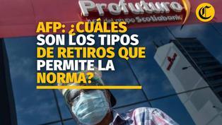 AFP: conoce los tipos de retiros que permite la norma aprobada por el Congreso