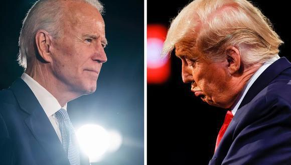Joe Biden ganó las elecciones del 3 de noviembre, pero Donald Trump no reconoce su derrota. (EFE).