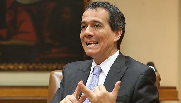 Alonso Segura, ex ministro de Economía y Finanzas. (Foto: El Comercio)