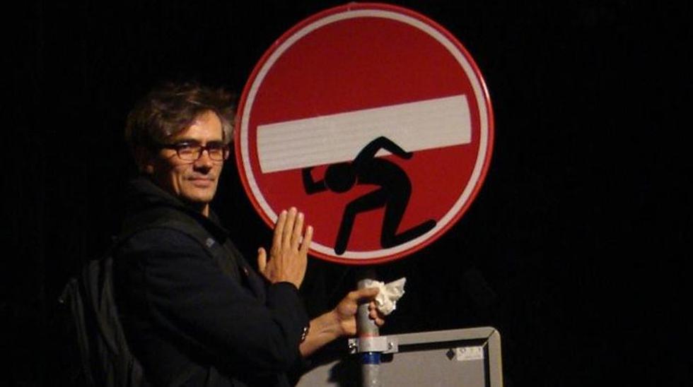 El artista que vuelve divertidas las señales de tránsito - 1