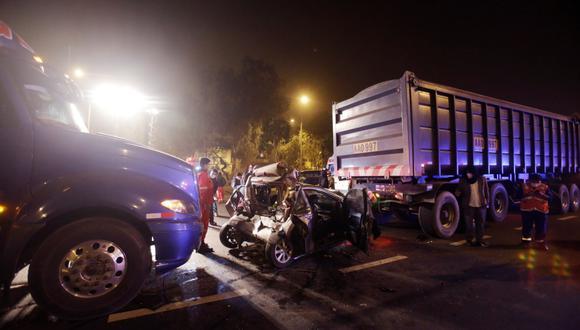 Accidente ocurrió a la altura de la cuadra 4 de la Panamericana Sur. (Foto: César Campos/GEC)
