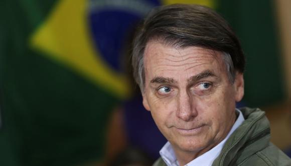Jair Bolsonaro afirma que Israel tiene derecho a decidir cuál es su capital. (Reuters).