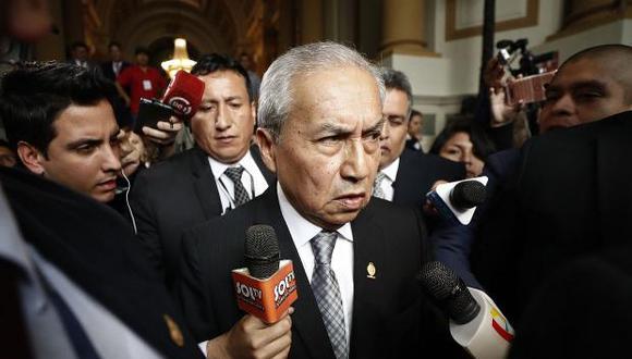 """""""La institución, entonces, tiene la responsabilidad de permitir que las investigaciones continúen y rechazar el archivamiento reclamado por Chávarry"""". (Foto: GEC)"""