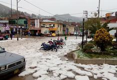 Huancavelica: así se vivió fuerte granizada en Acobamba | FOTOS y VIDEO