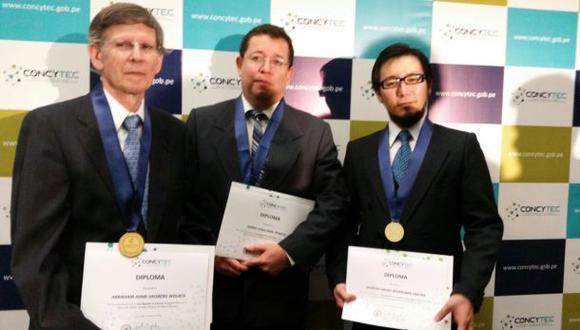 Concytec premió a los tres mejores científicos del Perú