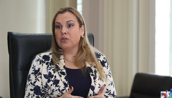 Fiorella Molinelli señaló que el 84% de la deuda de Essalud corresponde al sector privado. (Foto: Rolly Reyna / El Comercio)