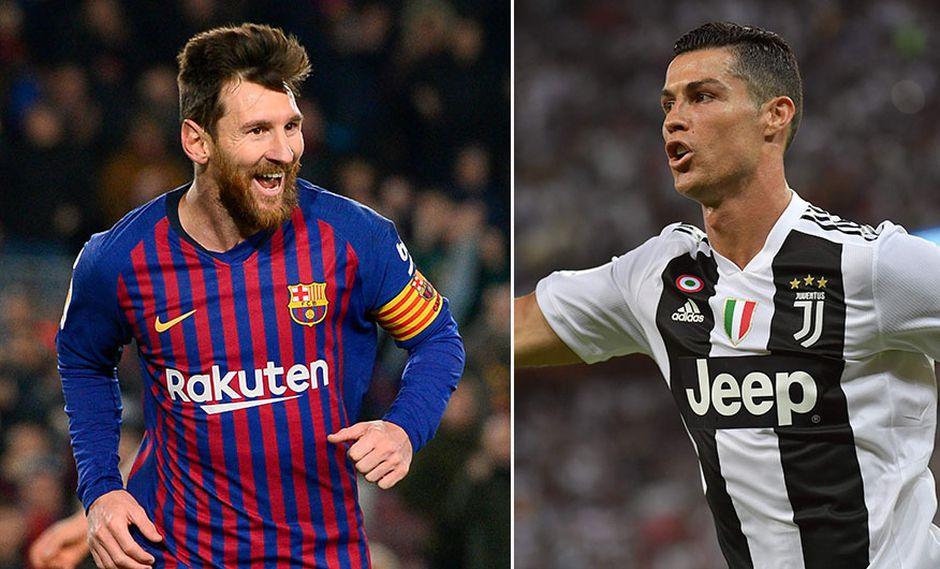 Lionel Messi y Cristiano Ronaldo solo se podrían enfrentar en la final de Champions League, tras sorteo. (Foto: AFP/Producción)