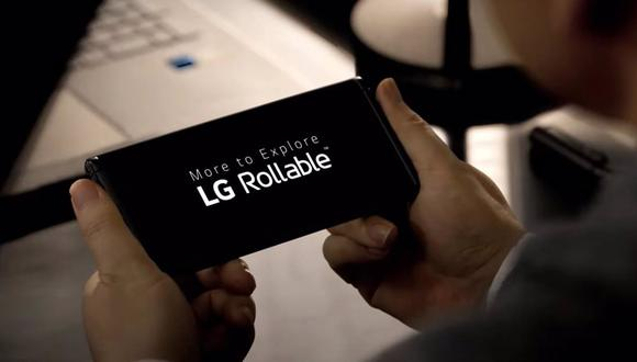 LG Rollable. (Imagen: LG)