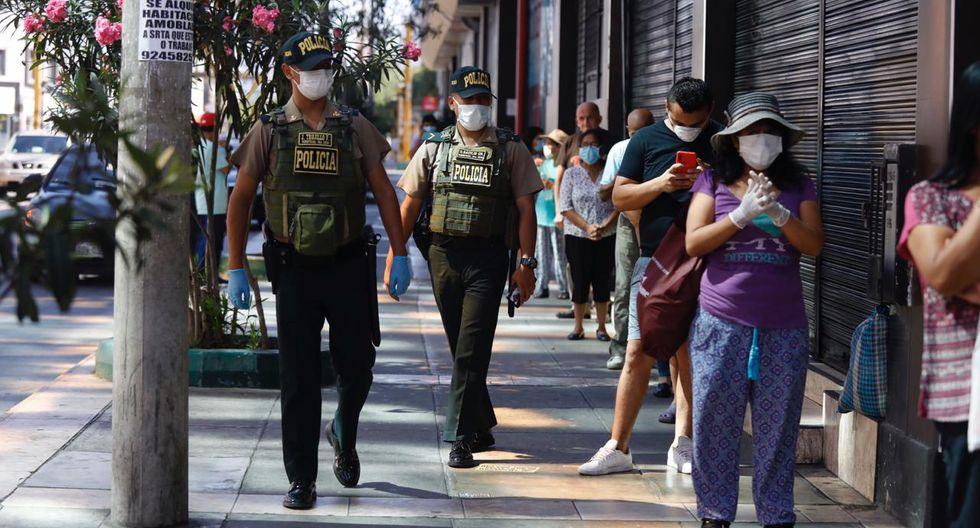 El Registro Informático tendrá la información de los ciudadanos peruanos o extranjeros que incumplan con las medidas dispuestas ante el coronavirus. (Foto GEC)