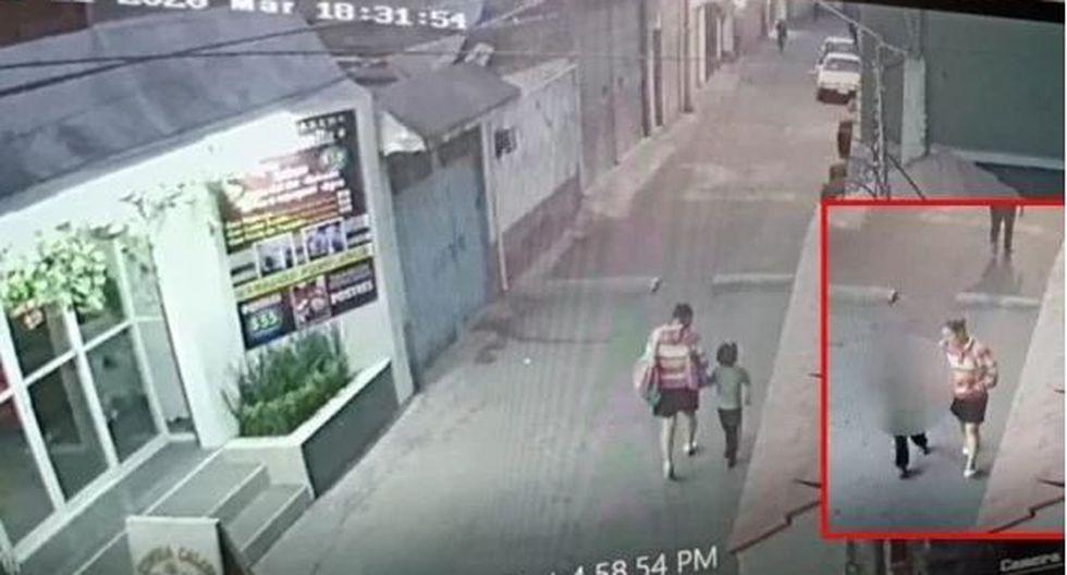 Las autoridades de México mostraron un video donde se ve a una mujer llevándose a la niña Fátima.