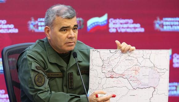 El ministro de Defensa de Venezuela Vladimir Padrino. (Foto: EFE).