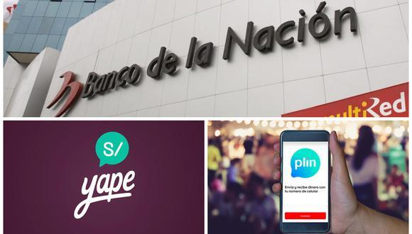 Banco de la Nación se acerca a Yape y Plin