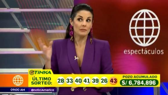 """Rebeca Escribens acusa a Federico Salazar y Verónica Linares de """"quemarle"""" las noticias. (Foto: Captura)"""
