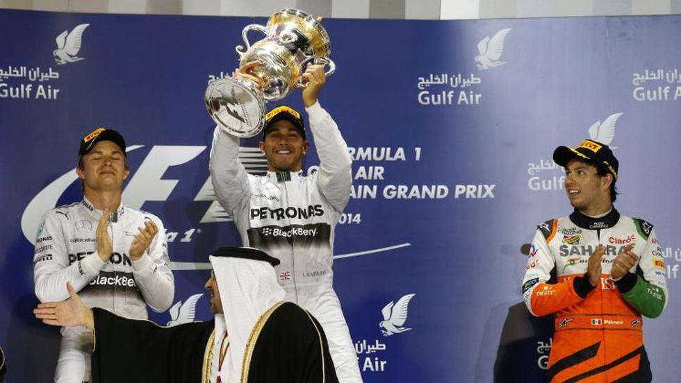Fórmula Uno: Hamilton ganó y Mercedes repite 1-2 en Bahréin - 1