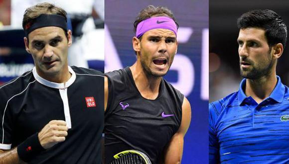 Los integrantes del 'Big Three' han conquistado 52 de los últimos 60 Grand Slam.