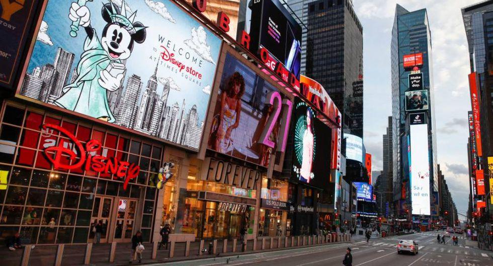 La ciudad de Nueva York luce vacía luego que se declare el aislamiento total de los ciudadanos. (Foto: Reuters)