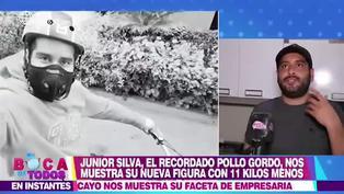 Junior Silva baja de peso y sorprende con radical cambio