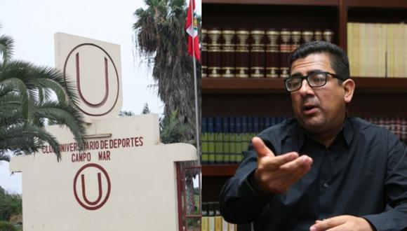 Carlos Moreno, administrador general de Universitario de Deportes (Foto: El Comercio)