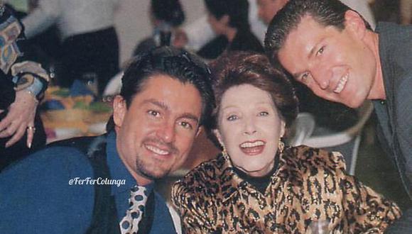 La actriz Libertad Lamarque se sentía tan feliz de ser parte de esta telenovela (Foto: Colungateams)