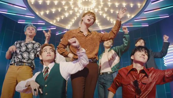 """BTS realizará dos conciertos virtuales tras la suspensión de su gira """"Map of the soul"""" por el COVID-19. (Foto: Captura de YouTube)"""